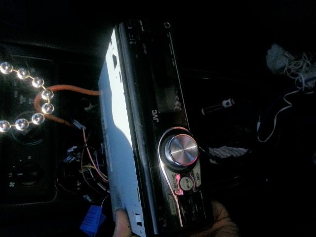 instalar nuevo firmware a jvc autoradio