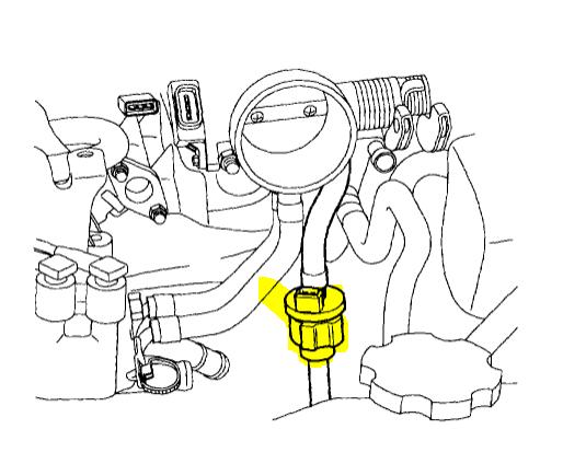 donde va colocada fuel  emissions purge valve for hyundai