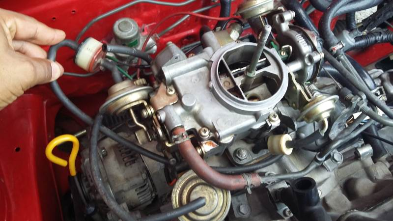 Cuál es el orden de las mangueras del carburador para ...