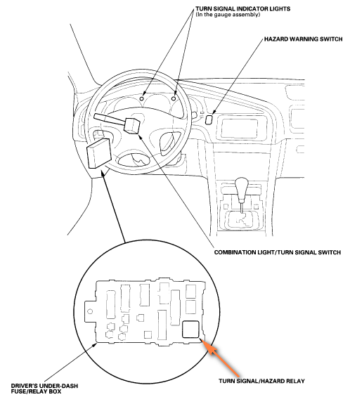 2003 Honda Accord Turn Signal Wiring Diagram