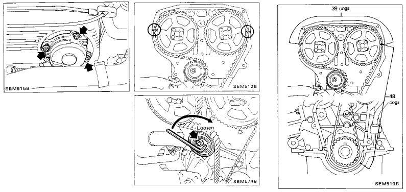 Nissan, CA18DET, CA18DE, sincronizar el motor, puesta a punto