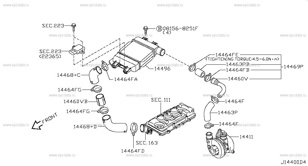 diagrama electrico de nissan frontier en espa u00f1ol  nissan