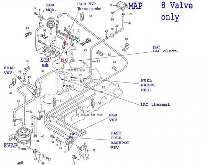 Suzuki Vitara Throttle Valve Cable