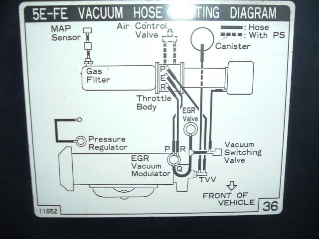 Sistema Emisiones Tercel 96