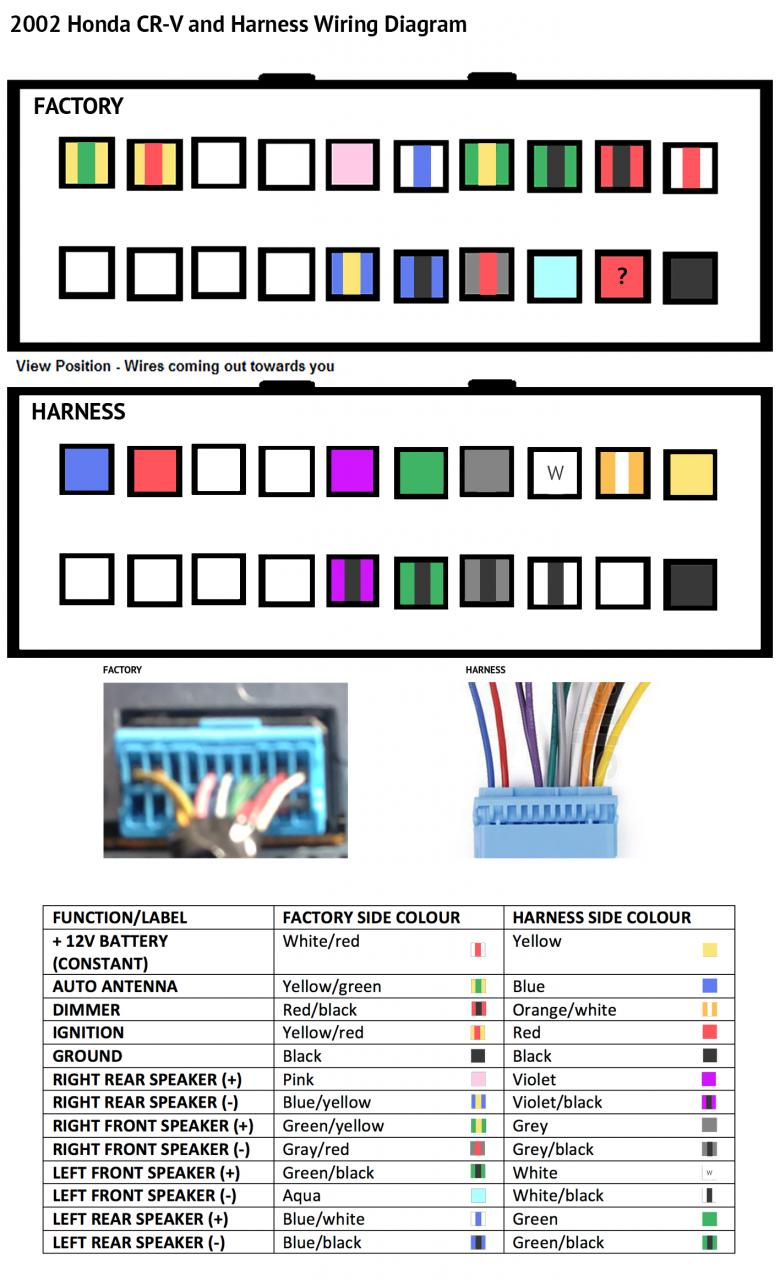 Alarmhelp2 likewise 99869 Stereo Wiring Diagram besides Watch also Audiowire moreover HONDA Car Radio Wiring Connector. on car stereo color wiring diagram