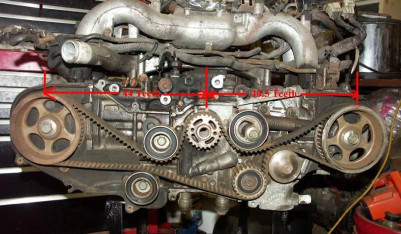como poner a tiempo un motor ej20g turbo de 2 arboles de leva