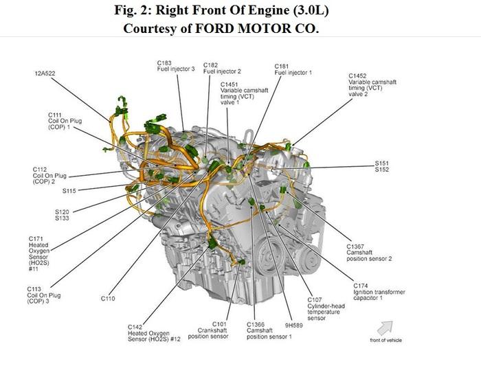 2003 ford escape o2 sensor location schematic  2003  free