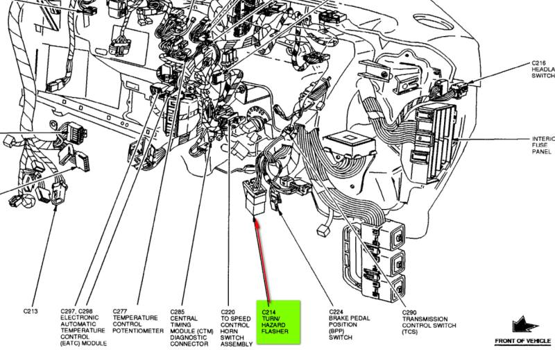 Ford F 100 Through F 750 Trucks 1964 additionally Gmc Yukon 1999 Fuse Box Diagram further RepairGuideContent besides 0znl0 Fuse Runs Power Windows 2000 2003 Ford Expedition as well 433434 Starter Wires. on 2001 ford ranger fuse box diagram