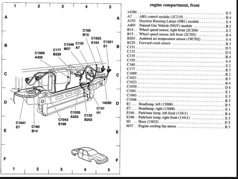 Donde Est 225 N Los Sensores De Temperatura Externa Del Ford