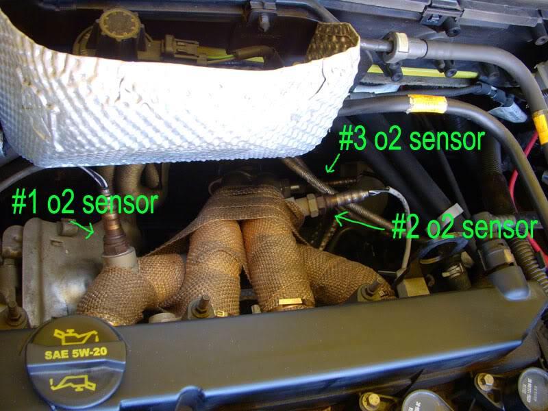 Ubicacion del sensor de oxigeno Ford Focus 2005 - ford ...
