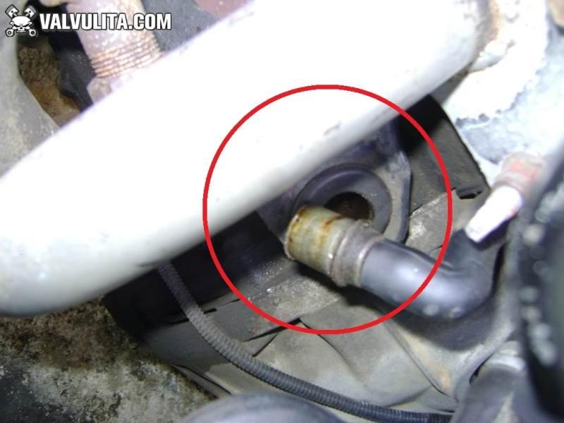 ubicar valvula pcv - ford, focus, aceite en el filtro de ...