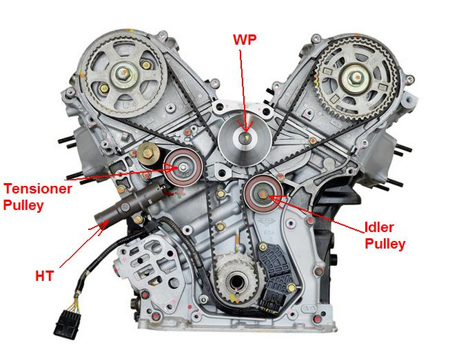 2008 honda odyssey timing belt engine diagram  honda  auto