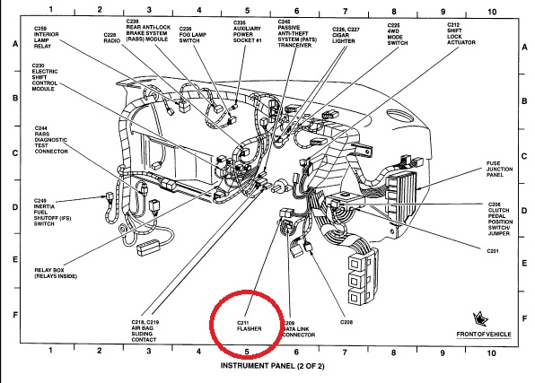Donde Esta Localisado El Flasher De Las Intermitentes De Un Mazda6 2006 on 2001 Toyota Corolla Engine Diagram