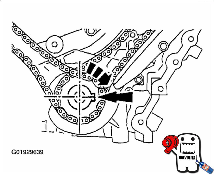 diagrama de tiepo para mazda mpv 3 0 2003