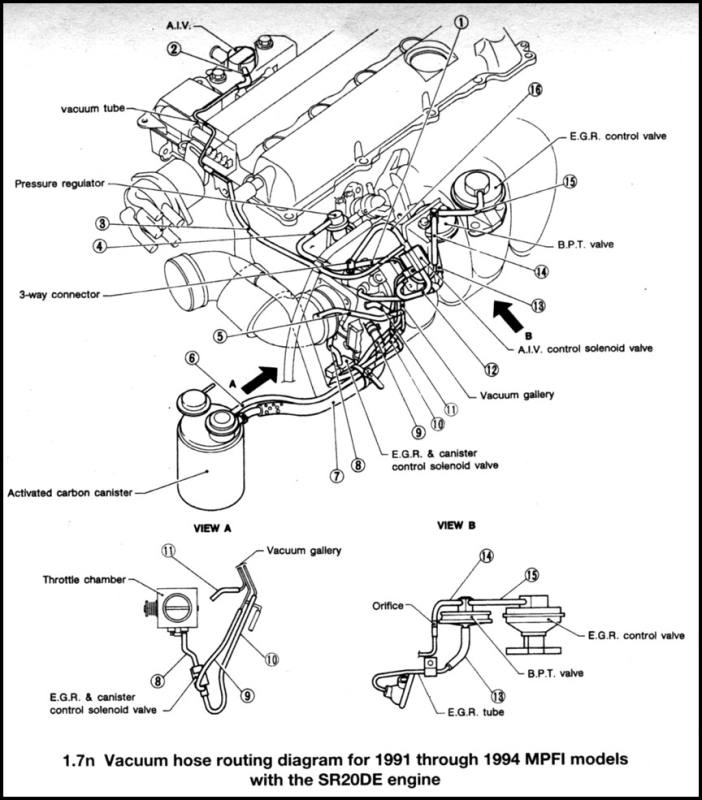1998 Nissan Maxima Wiring Harness Electrical Circuit Electrical