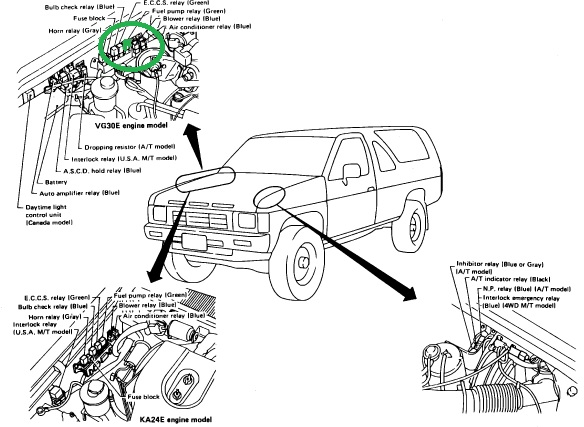 Engine Control Vacuum Piping together with Nissan Altima Ac Wiring Diagram furthermore P2757 2011 toyota camry furthermore pressor Clutch Not Engaging likewise Index. on 2002 nissan xterra electrical diagram