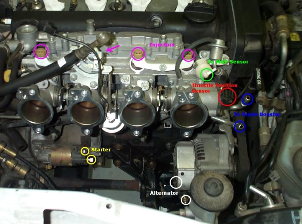 Guia Completa De Sensores Del Motor Toyota 4age 20v Tapa Negra