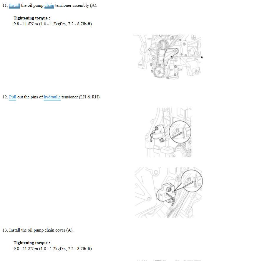 diagrama de tiempo de una sorento 3 8l 2007