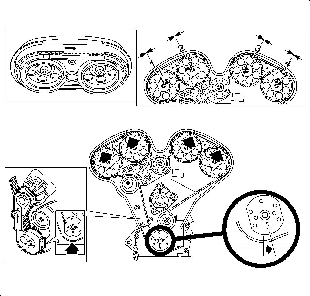 posiciones de  u00e1rbol de levas