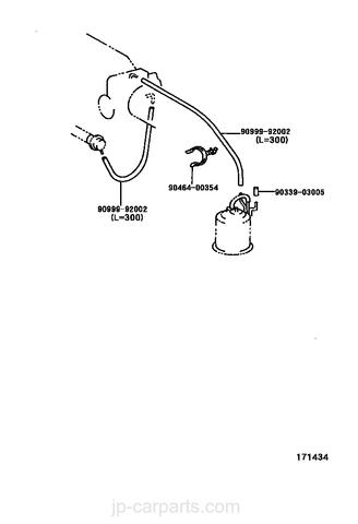 Diagrama de Vacio Toyota 3SGE