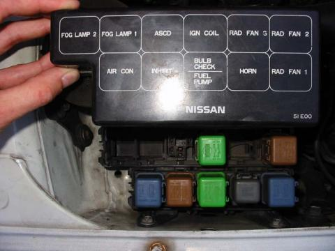 Nissan Bluebird Attesa Fuse Box