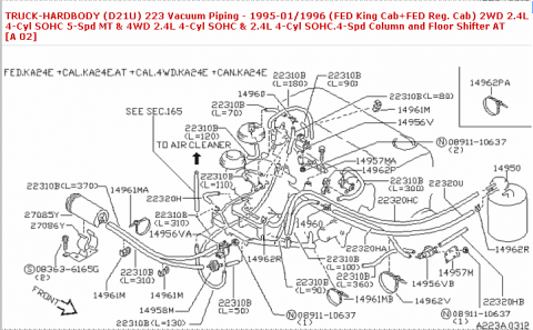 Nissan D Vacuum Diagram