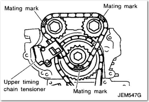 Engine Diagram For 2003 Infiniti M45 likewise 2001 Acura Cl Engine Diagram together with Engine Codes besides Nissan Frontier Fuel Filter Location 2005 as well T5953938 Timing mark diagram 2000. on knock sensor location nissan maxima