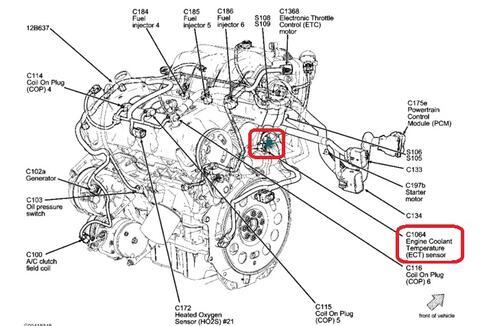 Sensor De Temperatura Ford Fusi 243 N 2006 Valvulita