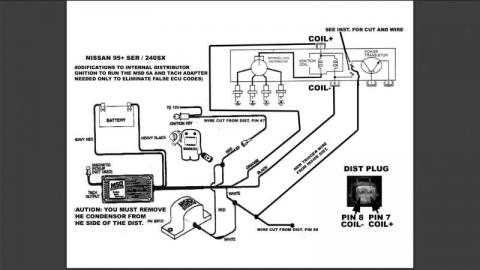 Instalar MSD 6A en un motor sr20de