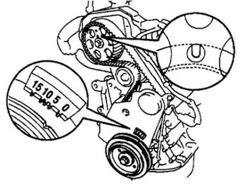 Cambio Correa Distribuicion Toyota Rav 4 1999
