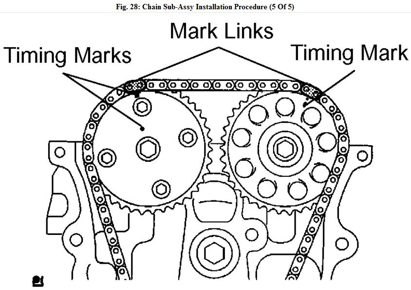 ford 5 4 timing marks diagram
