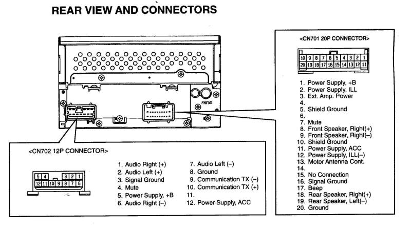 Toyota Stereo Wiring Harness on Clarion Cd Player Wiring Diagram