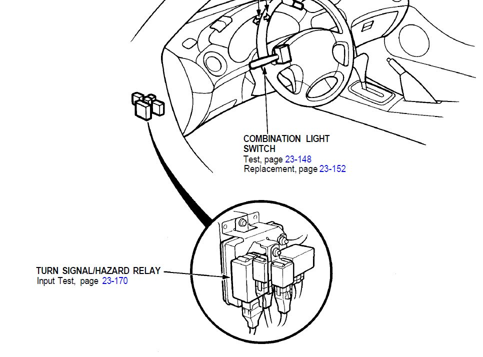 Honda Civic Turn Signal Relay