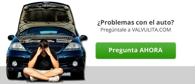Problemas con tu auto? Pregúntale a VALVULITA