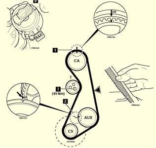 Algien tiene el diagrama de la distribucion de un bora turbo